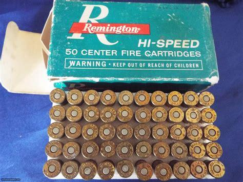 Vintage Remington High22 Rem Jet Ammo For Sale