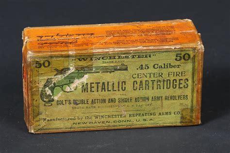Vintage Winchester 45 Colt Ammo