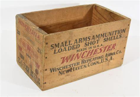 Vintage Winchester Ammo Box