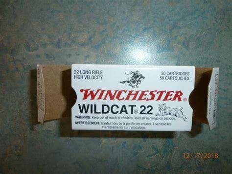 Vintage Winchester Wildcat 22 Ammo