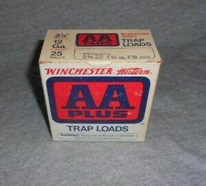 Vintage Winchesterwestern Aa Plus Trap Loads 12 Ga
