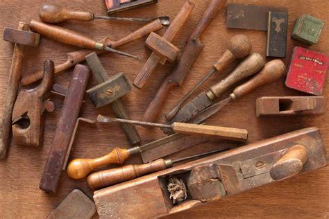Vintage carpentry tools Image