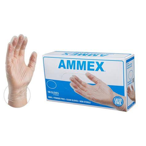 Vinyl Gloves Disposable Ammex