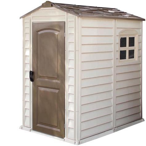 Vinyl storage shed kits Image