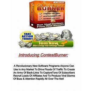 Viral marketing contest burner online contest software inexpensive
