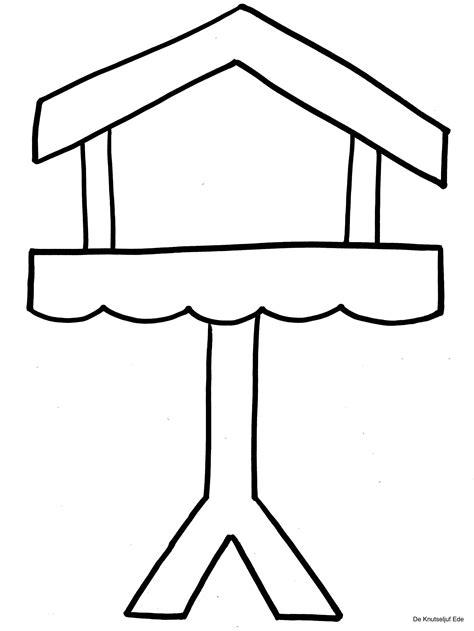 Vogelhaus Malvorlage