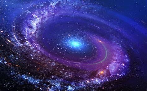 Vortex Galaxy Wallpaper