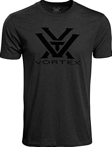 Vortex Optics Short Sleeve Vortex Logo Tshirts Short Sleeve Vortex Logo Tshirt Charcoal Heather Md