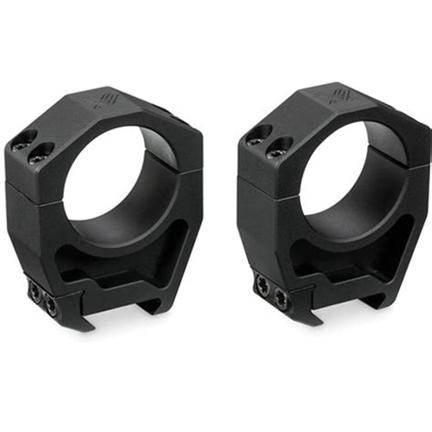 Vortex Precision Matched Riflescope Rings 34mm 110 Aluminum Picatinny Rings
