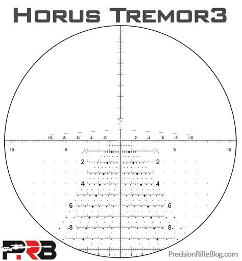 Vortex Tremor 3 Reticle
