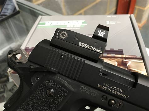 Vortex Venom 1911 Mount And Ar Stoner 308 Barrel