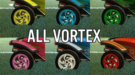 Vortex Wheels Rocket League