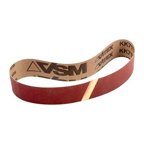 Vsm Abrasives Corporation Sanding Belts 320 Grit 1 1 2
