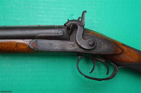 W Parker Double Barrel Shotgun 13 Gauge