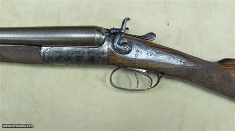 W Richards 12 Ga Double Barrel Shotgun
