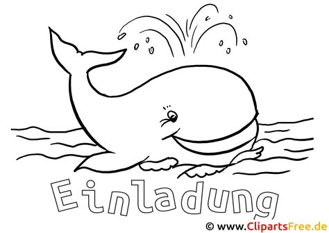 Wal Malvorlage