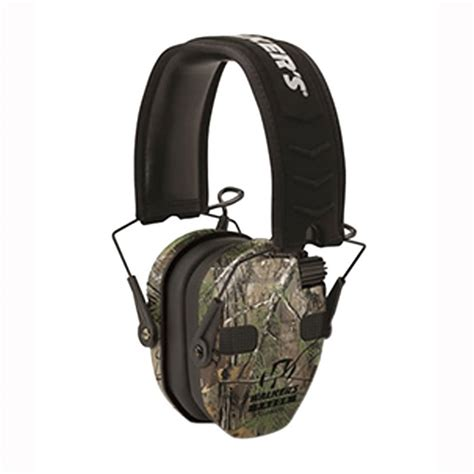 Walkers Game Ear Razor Slim Electronic Quad Ear Muffs Razor Slim Electronic Quad Ear Muff Realtree Xtra