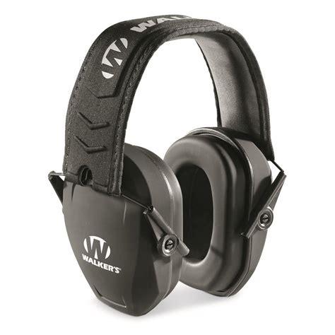 Walkers Game Ear Razor Slim Passive Muffs Razor Slim Passive Muff Fde