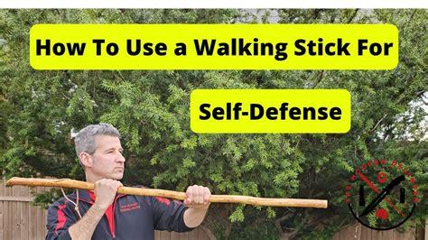 Walking Stick Self Defense Techniques