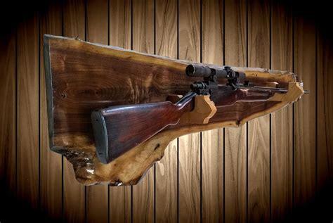 Wall Mount Rifle Holder
