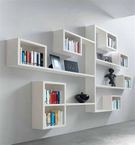 Wall book shelving Image