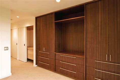 Wall cabinet design for bedroom Image