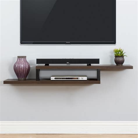 Wall mount tv accessory stands Image