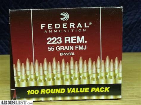 Walmart Federal 223 Ammo