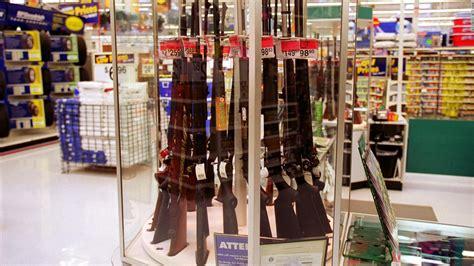 Walmart Not Selling Guns And Ammo