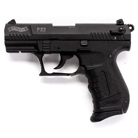 Walter Arms P22 Semi-Automatic 22LR 10rd With Flash