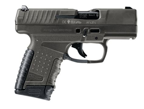 Walther Usa 2812428 Pps Pistol 9mm 3 2in 8rd Gray