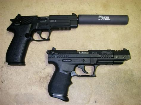 Sig-Sauer Walther P22 Target Vs Sig Sauer Mosquito.