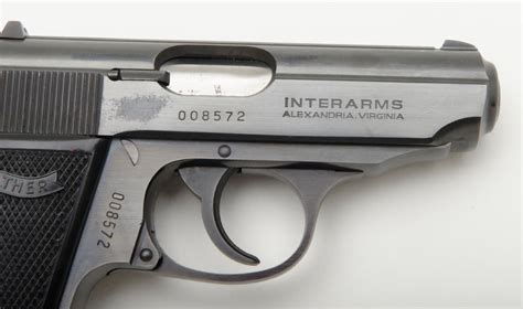 Walther Ppk Interarms Serial Numbers