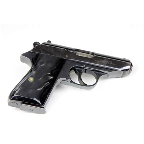 Walther Ppk S Black Grips