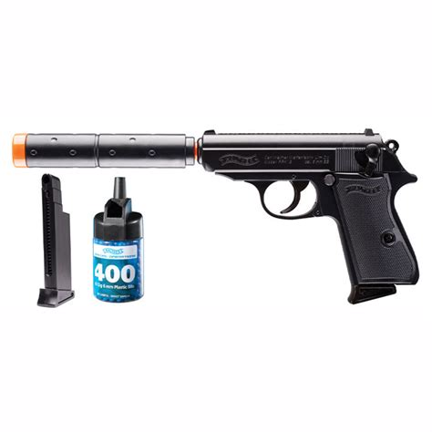 Walther Ppk S Operative Airsoft Pistol Black