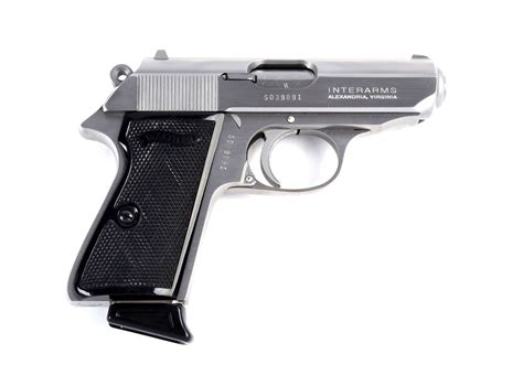 Walther Ppk Stainless Interarms