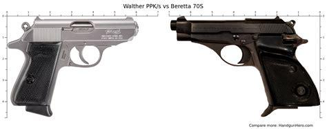 Walther Ppk Vs Beretta 70