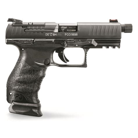 Walther PPQ M2 9mm 4 6 Threaded Barrel 15 17 For Sale