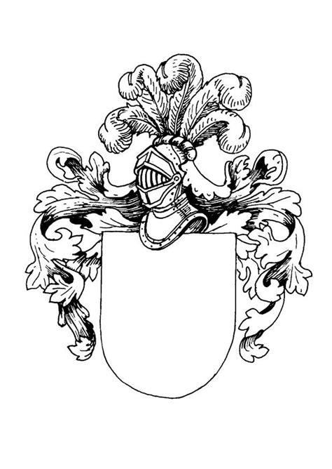 Wappen Malvorlage