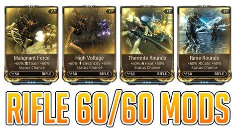 Warframe Rifle Mods