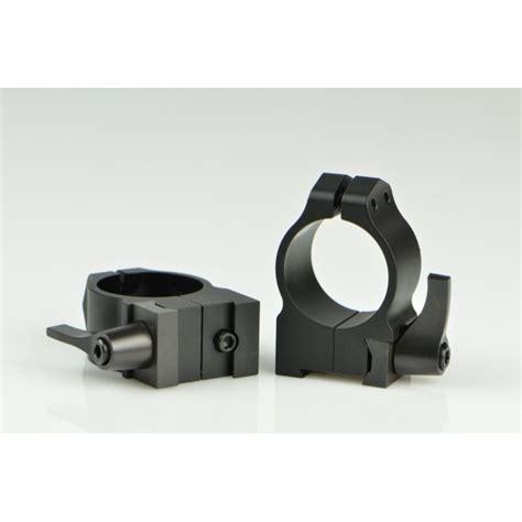 Warne Mfg Company Maxima Quick Detach Rings Maxima Qd Rings 1 Inch Low Gloss