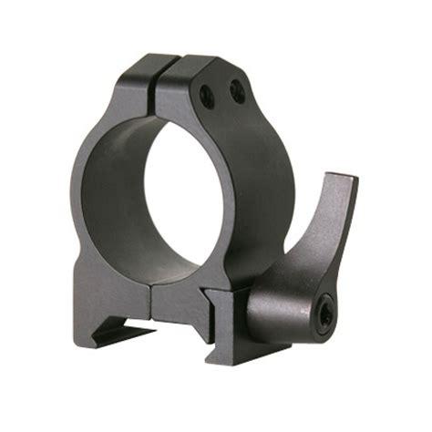 Warne Mfg Company Maxima Quick Detach Rings Maxima Qd Rings 1 Inch Medium Matte