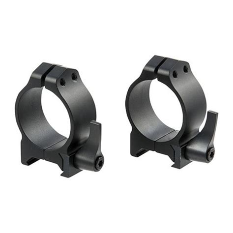 Warne Mfg Company Maxima Quick Detach Rings Maxima Qd Rings 30mm Medium Matte