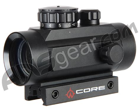 Warrior Tactical 1x40mm Red Dot Sight