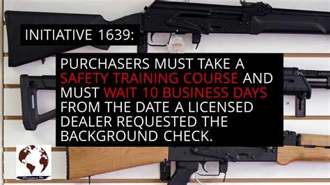 Washington Assault Rifle Law