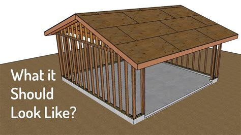 Watch this video before you build a two car garage framing and foundation Image