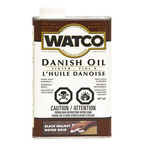 Watco oil finish Image