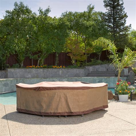 Water Resistant Patio Dining Set Cover