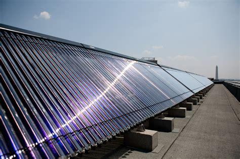 Water heating panels Image