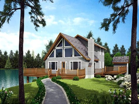 Waterfront cabin plans Image